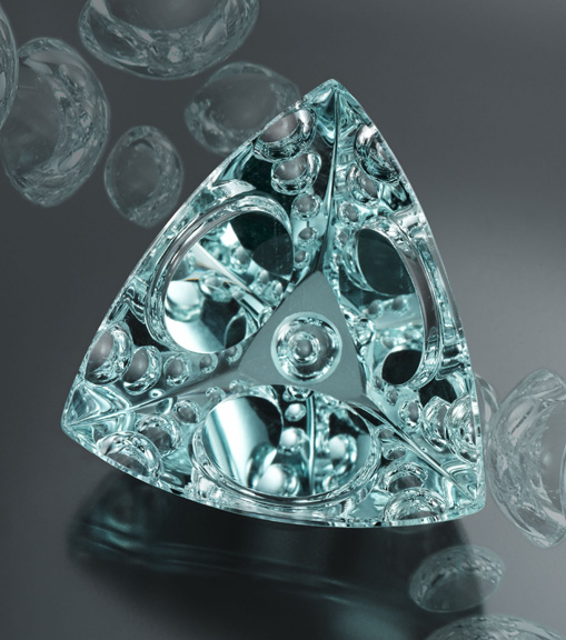 Prize-winning 113.24-ct aquamarine cut by Michael M. Dyber