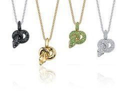 Brad and Angelina's snake pendants for Asprey