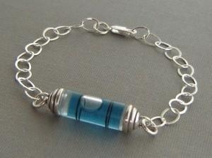 Sherry Truitt's Spirit level bracelet