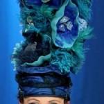 opal hat on model