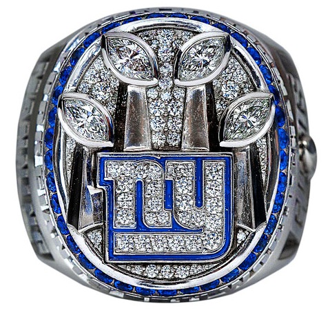 Tiffany puts a ring on it: Super Bowl XLVI rings for New York Giants