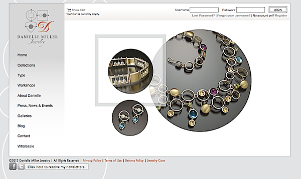 How to build your own website to sell your jewelry