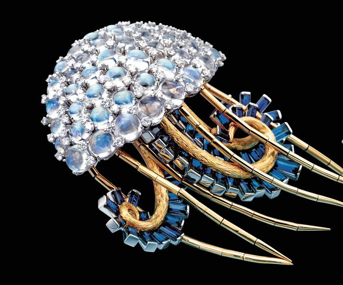 Jellyfish brooch by Jean Schlumberger, 1960s