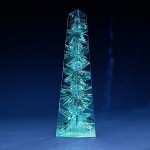 Dom Pedro aquamarine of 10.363 carats carved by Bernd Munsteiner was unveiled on Dec. 6, 2012 (Smithsonian's National Museum of Natural History)