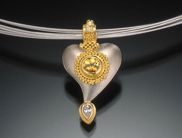 Cornelia Goldsmith heart pendant