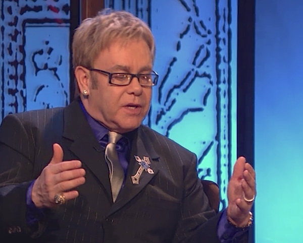 Elton John interviewed by Elvis Costello