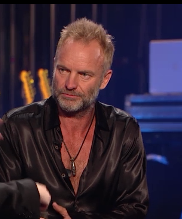Sting interviewed by Elvis Costello at the Apollo