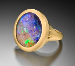 Lilly fitzgerald opal ring