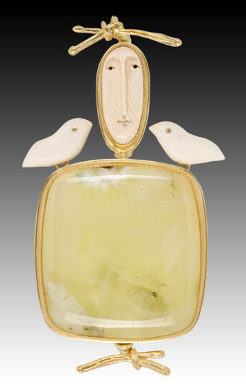 Woodland Goddess pendant by Carolyn Morris Bach