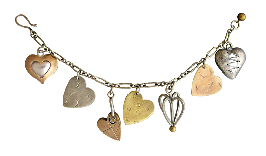 Thomas Mann charm bracelet
