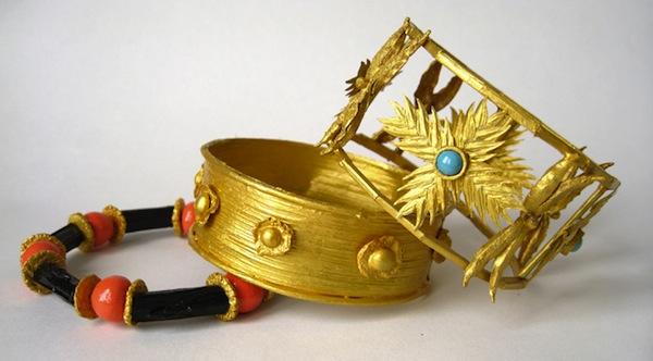 3 bracelets by Mimi Favre-PFS