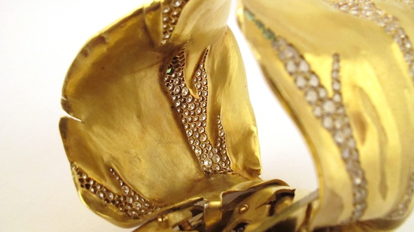 JAR tulip bangle closure (Vanessa Cron/Christie's)