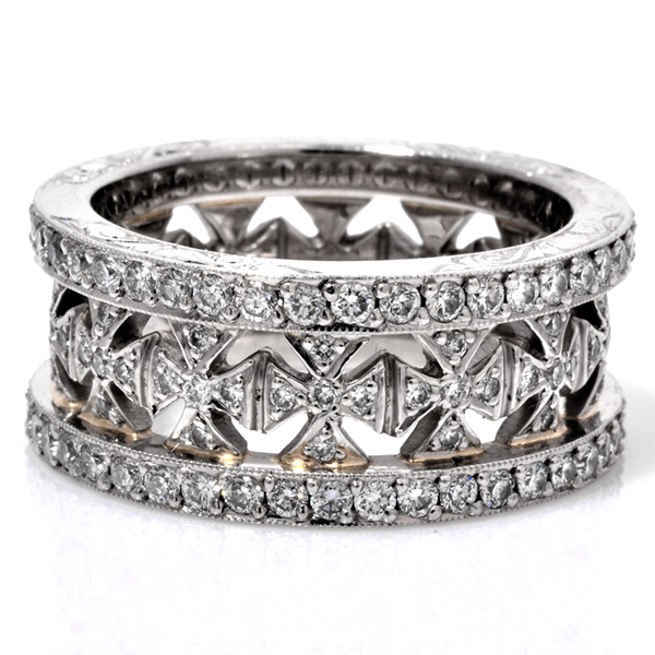Beaudry diamond eternity band