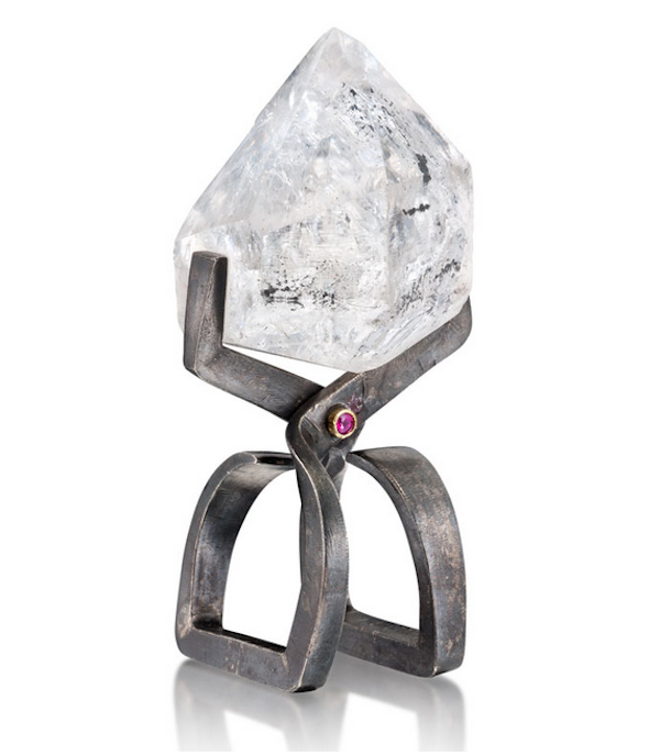 """""""Ice"""" ring by Alan Revere, 2012"""