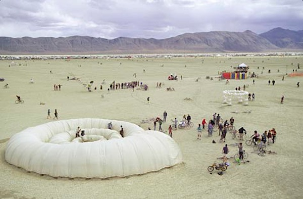 Ammonite Project at Burning Man