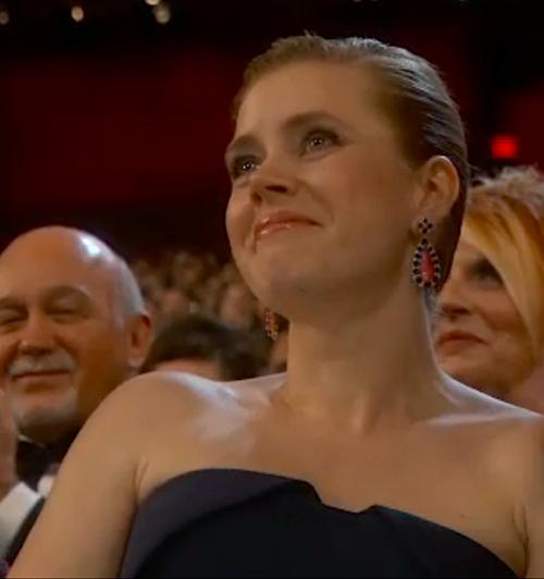 Amy Adams in Tiffany Oscars 2014