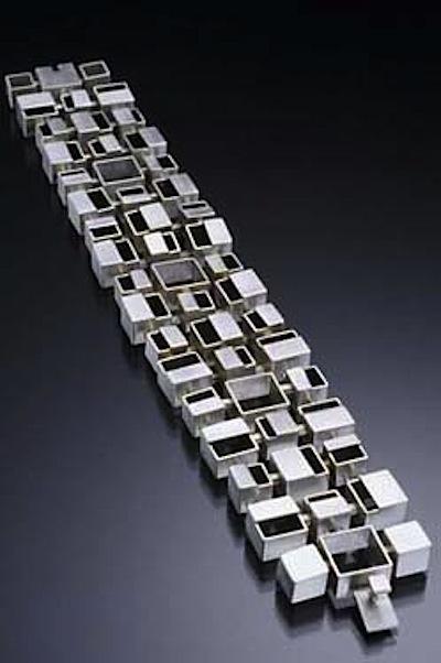Bauhaus bracelet Hilary Hachey