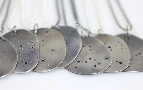 Beth Cyr Constellation pendants