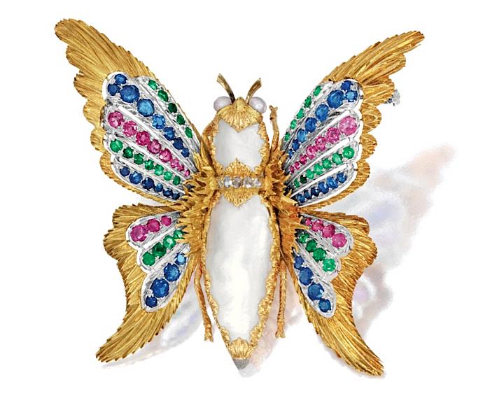 Buccellati Butterfly brooch