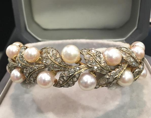 Buccellati pearl bracelet