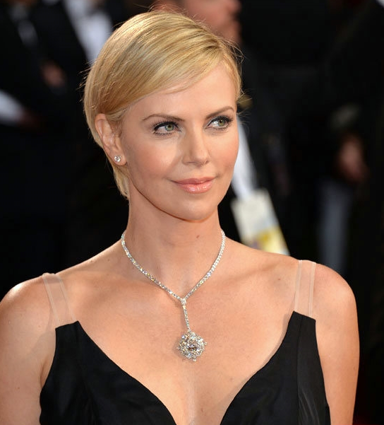 Charlize Theron Harry Winston