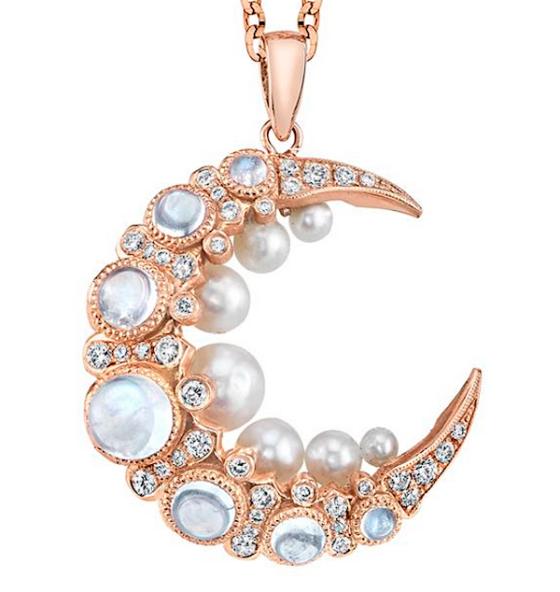 """Colette """"Moon Cage"""" pendant"""