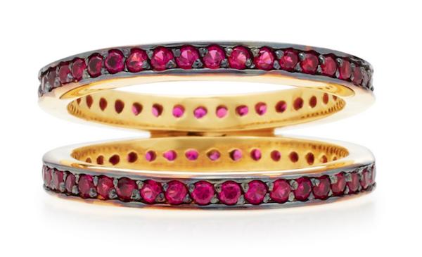 Crisscross ring by Joanna Laura Constantine