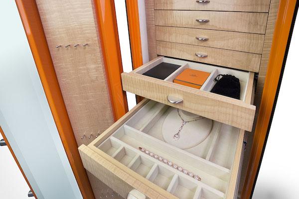 Custom-Jewelry-Safe-Gem 6018-HERMES_Interior