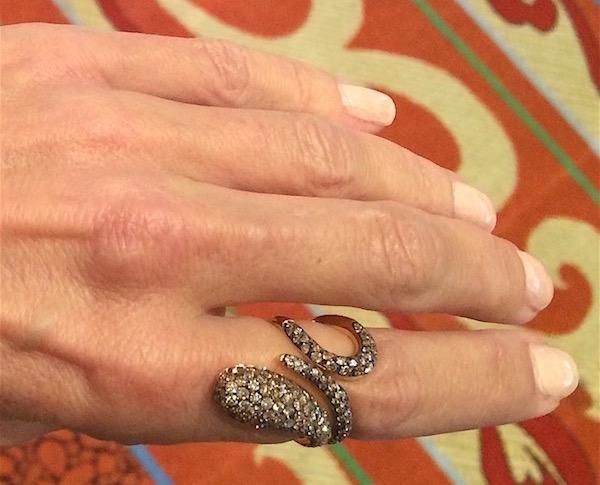Dada Arrigoni snake ring
