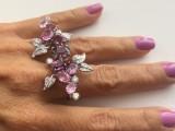 Dallas Prince pink peony ring