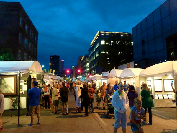 Des Moines Arts Festival (courtesy RubertStudios.com)