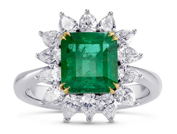 emerald-ring-with-diamond-halo