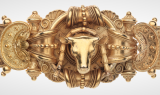 Etruscan Revival bracelet by Ernesto Pierret (detail)