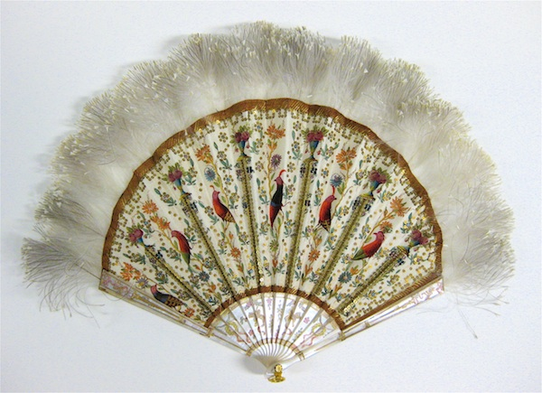 Fan from Gilded Age NY