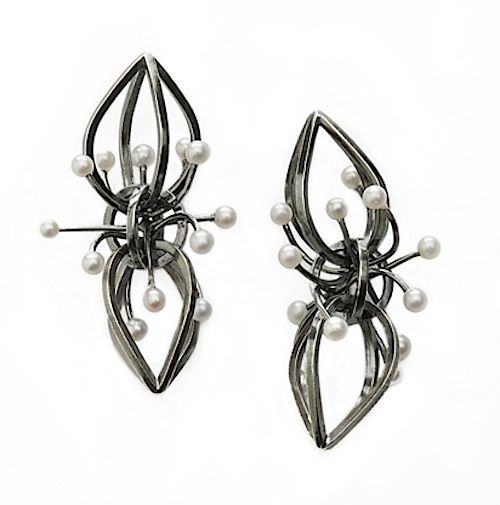 Gina Pankowski Dark Comet earrings