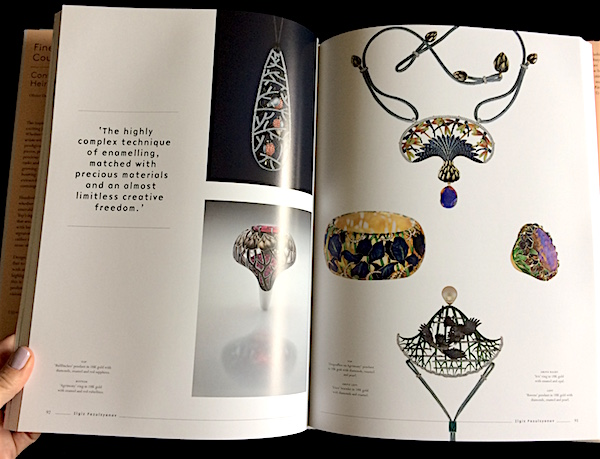 Spread on Russian jewelry designer Ilgiz Fazulzyanov from Fine Jewelry Couture