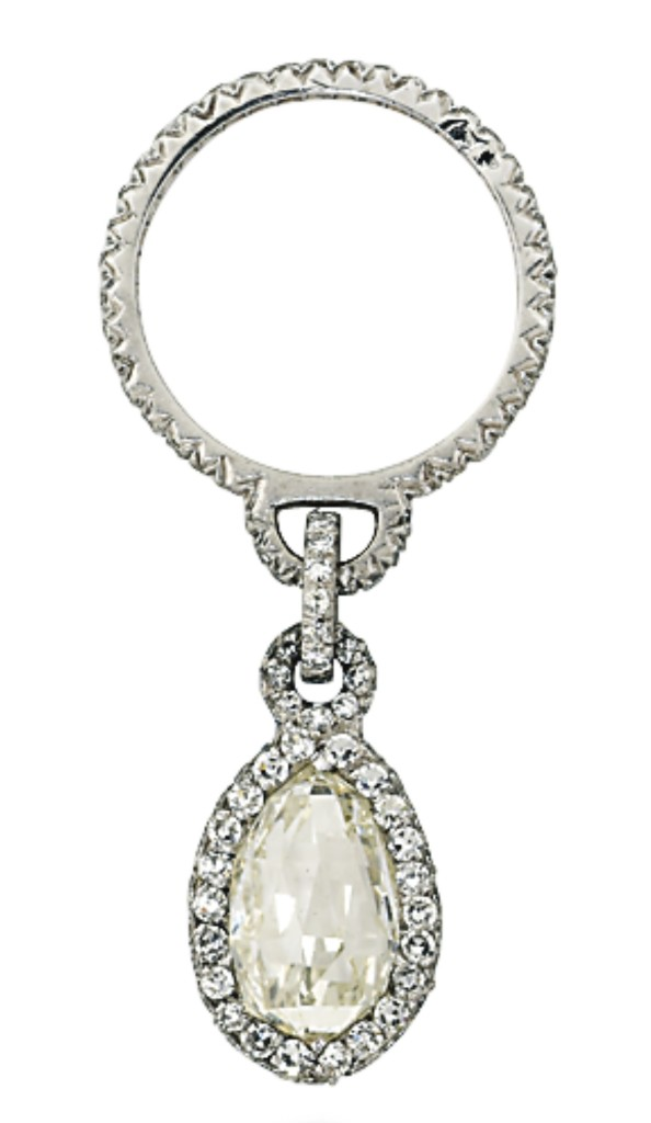 JAR diamond pendant ring - Christie's Geneva