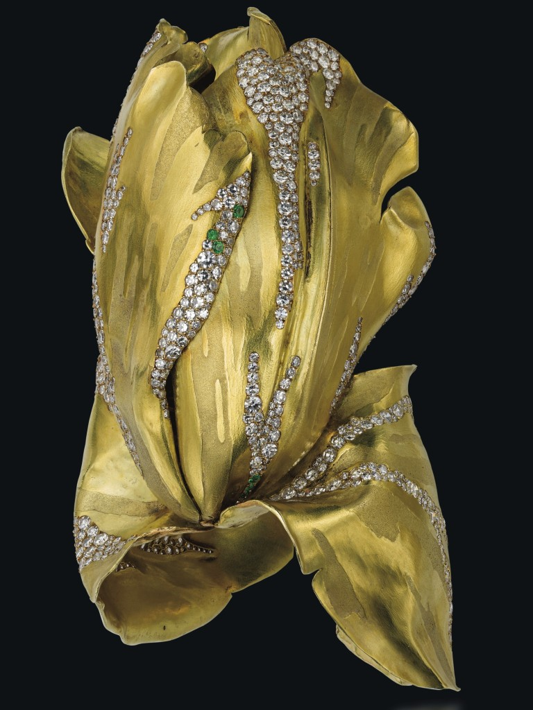 JAR gold tulip bangle (Vanessa Cron/Christie's)