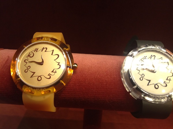 Watches by JAR (photo Cathleen McCarthy)