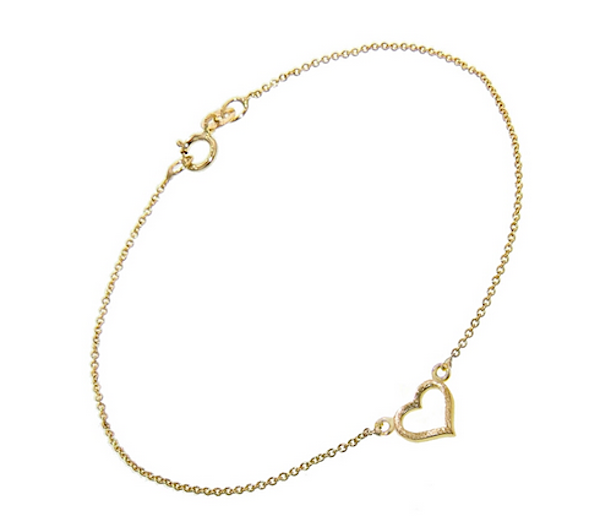 Jennifer Meyer Open Heart Bracelet