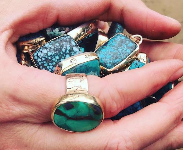 Jes MaHarry turquoise jewelry