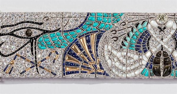 Lacloche Egyptian Bracelet (detail)