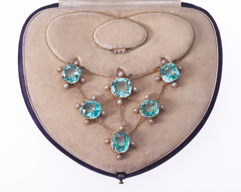 Mrs. Philip (Charlotte) Newman necklace, c. 1890
