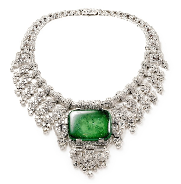 Necklace worn by Countess of Granard