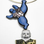 Niki de Saint Phalle, Nana Brooch_necklace 1973