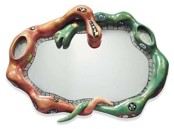 Niki de Saint Phalle - Snake mirror