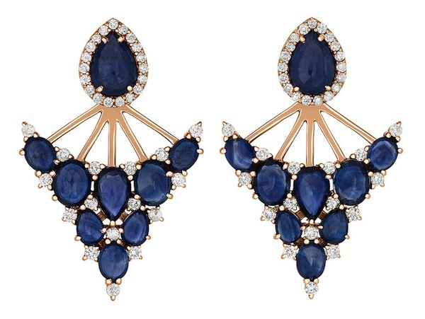 Portia Fan Earrings by Shawn Warren