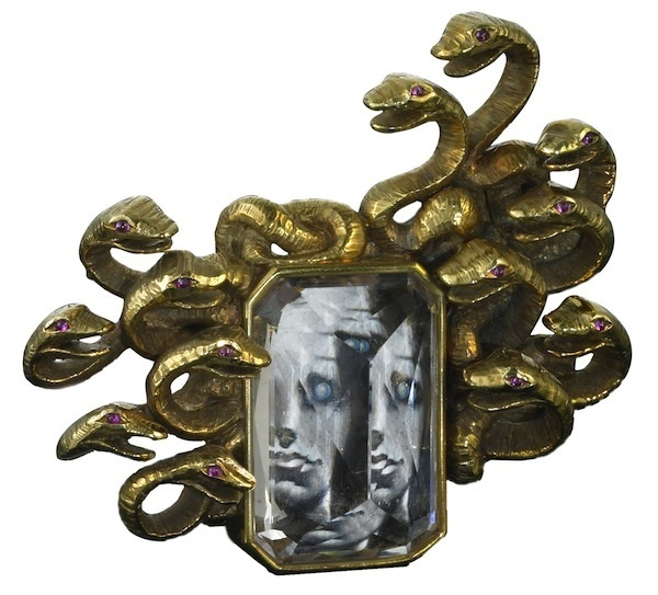"""Medussa"" brooch - Dali and Verdura"