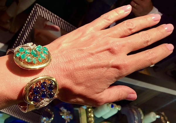 René Boivin bracelet, 1940, by Juliette Moutard | photo Cathleen McCarthy | The Jewelry Loupe