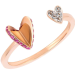 Ruifier Flutter Heart Ring